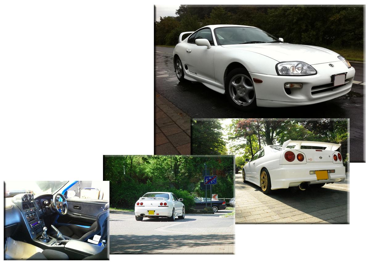 Übersicht japanischer Importfahrzeuge