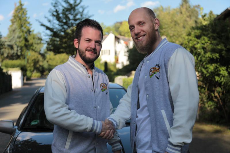 Tommy und Sebastian, die Gründer von Toretto Imports