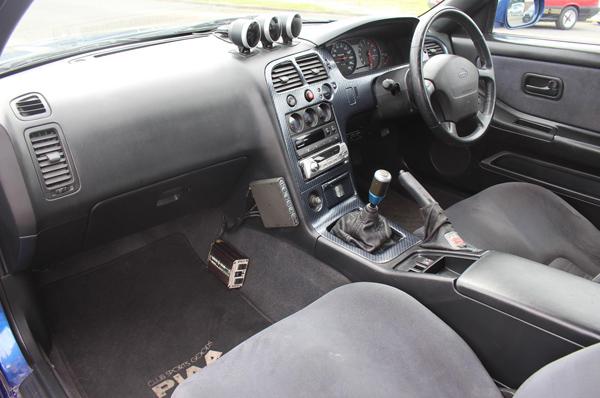 Nissan Skyline R33 GT-R (1995) - Innenraum 2