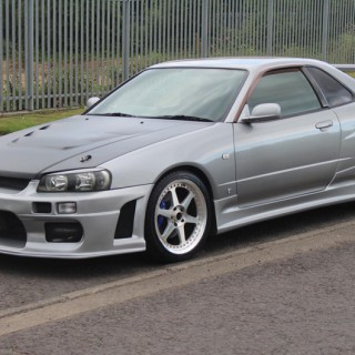 Nissan Skyline R34 GT-T (1998) Drift Spec *VERKAUFT*