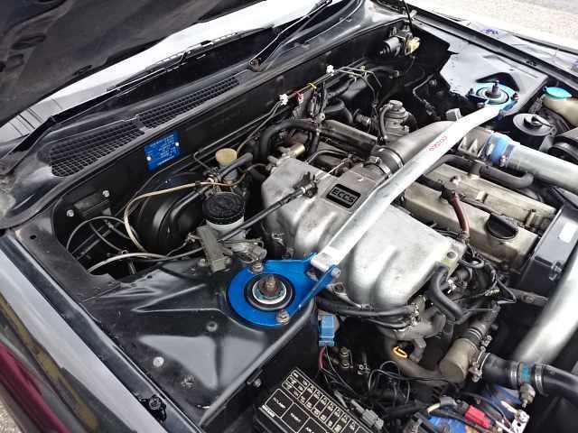 Nissan Skyline R32 GTS-T Type M (1992): Motorraum 1