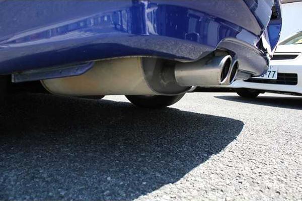 Nissan Silvia S15: Auspuffanlage