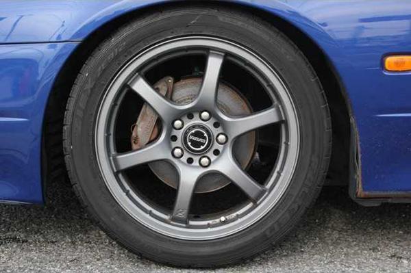 Nissan Silvia S15: Felgen