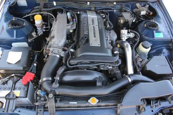 Nissan Silvia S15: Motorraum 1