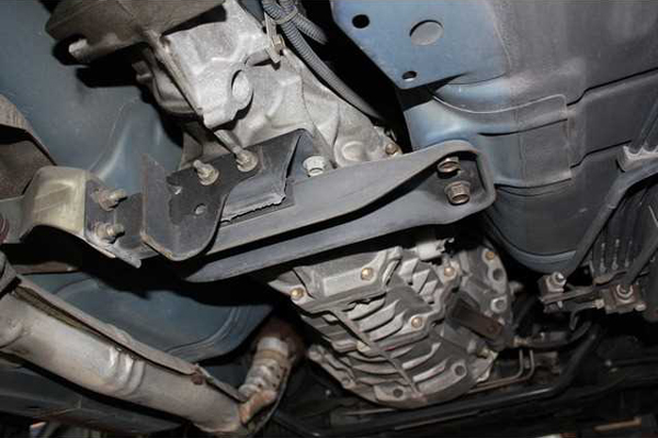 Nissan Silvia S15: Unterboden