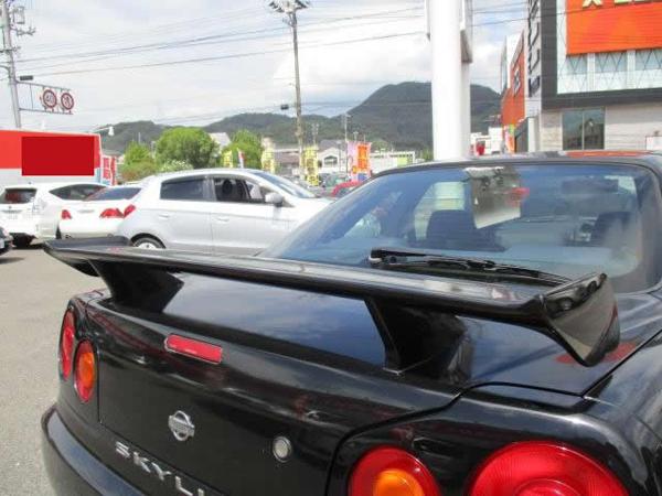 Nissan Skyline GT-T (1999): Hinten 2