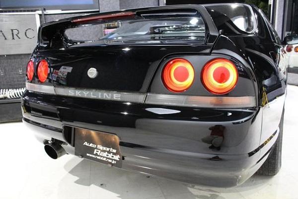 Nissan Skyline R33 GTS-T Type M: Heckansicht 3