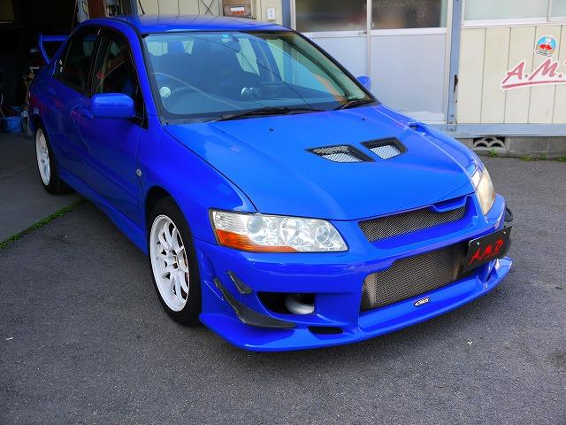 Mitsubishi lancer Evo VII GSR (2001): Schräg vorne 3