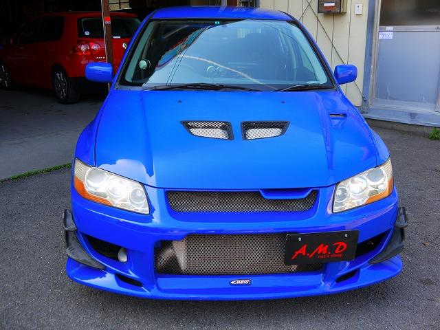 Mitsubishi lancer Evo VII GSR (2001): Front