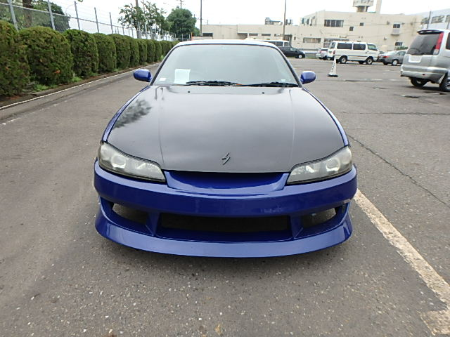 Nissan Silvia S15 Type R (2002): Front