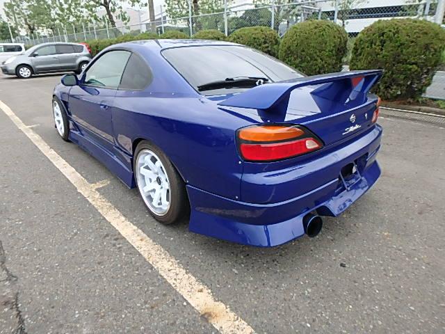 Nissan Silvia S15 Type R (2000): Hinten 3