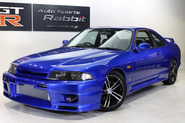 Nissan Skyline R33 GTS-T Type M Anniversary (1997): Schräg vorne 1