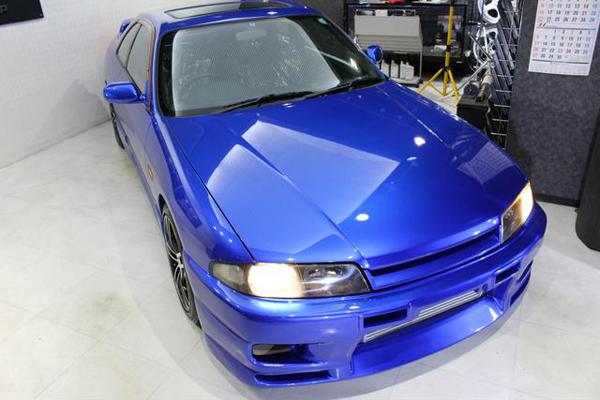 Nissan Skyline R33 GTS-T Type M Anniversary (1997): Schräg vorne 3