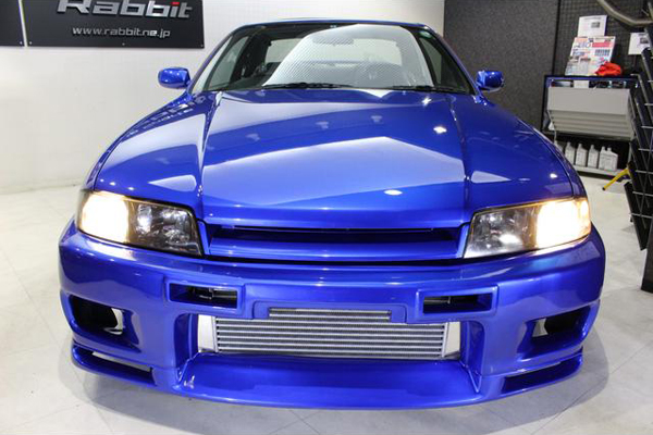 Nissan Skyline R33 GTS-T Type M Anniversary (1997): Front
