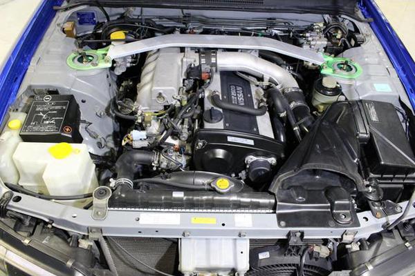 Nissan Skyline R33 GTS-T Type M Anniversary (1997): Motorraum