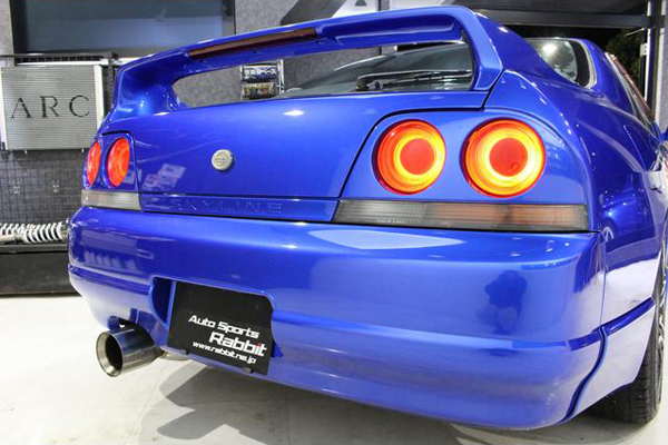 Nissan Skyline R33 GTS-T Type M Anniversary (1997): Schräg hinten 3