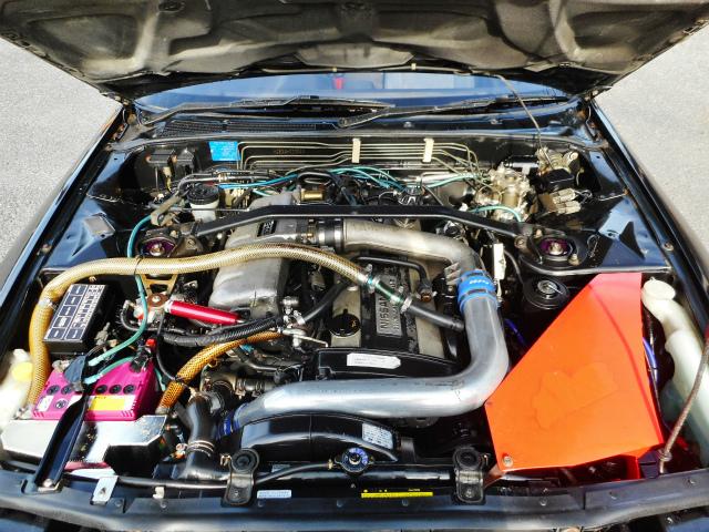 Nissan Skyline R32 GTS-T Type M (1990) HIGH SPEC - Motorraum 1