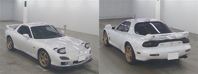Mazda RX-7 bei der Auktion