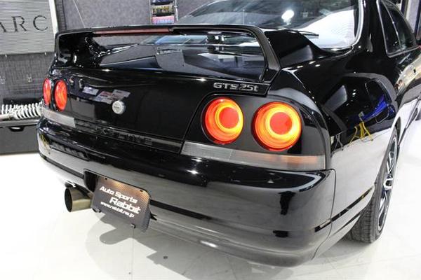 Nissan Skyline R33 GTS-T Type M Spec 2 (1996): Heck 3