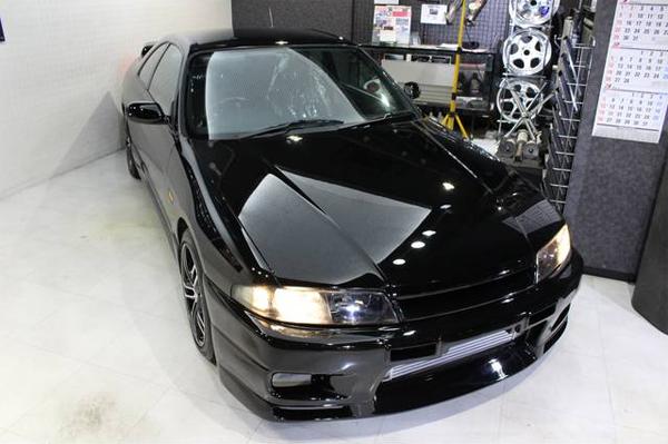Nissan Skyline R33 GTS-T Type M Spec 2 (1996): Front 4