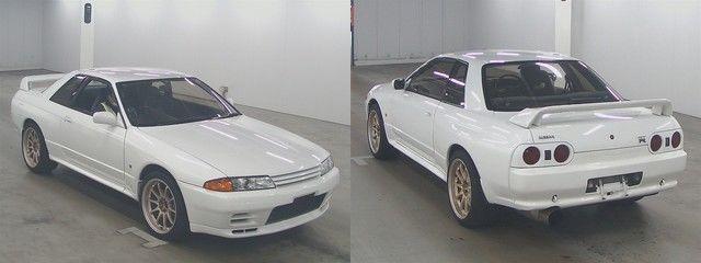 Nissan Skyline R32 GT-R bei der Auktion