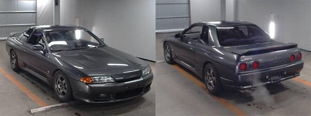 Nissan Skyline R32 GTS-T bei der Auktion