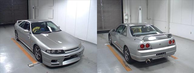 Nissan Skyline R33 GTS-T bei der Auktion