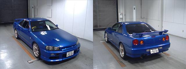 Nissan Skyline R34 GT-T im Auktionshaus