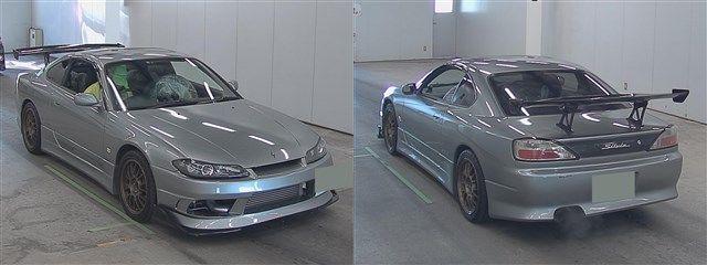 Nissan Silvia S15 Type R bei der Auktion