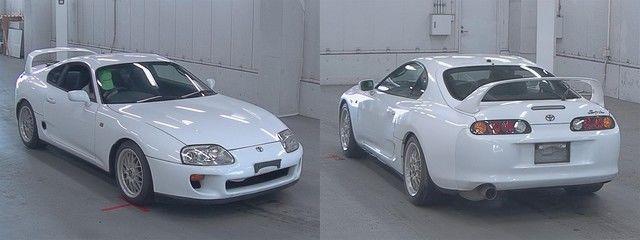 Non-Turbo Toyota Supra MKIV im Auktionshaus