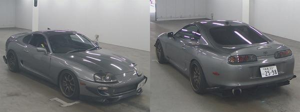 Twin-Turbo Toyota Supra MKIV im Auktionshaus