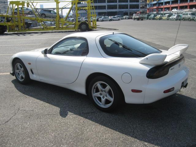 Mazda RX7 Type RB (2000): Schräg hinten 1