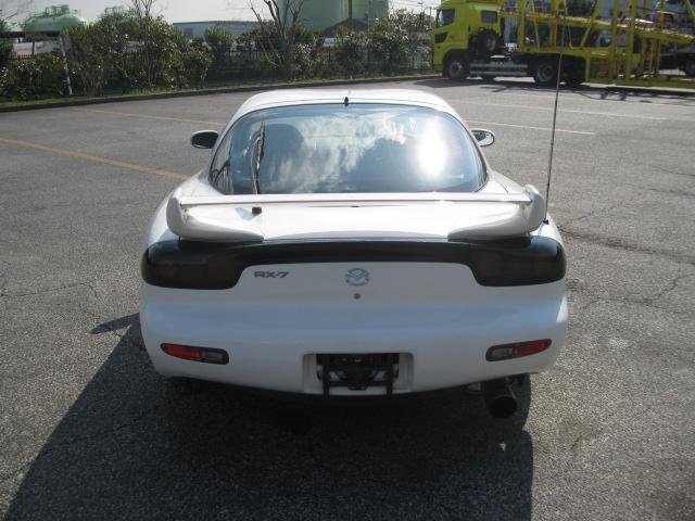 Mazda RX7 Type RB (2000): Heckansicht 1