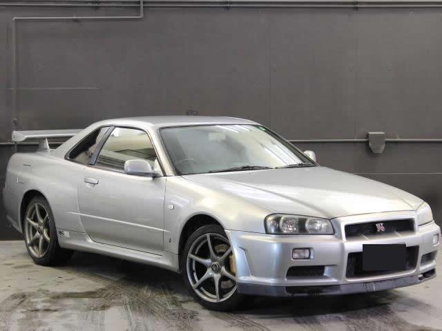 Nissan Skyline R34 GT-R (1999): Schräg vorne 2