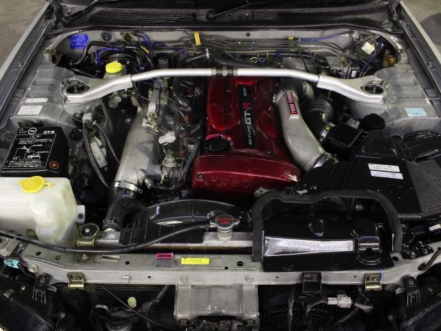 Nissan Skyline R34 GT-R (1999): Motorraum