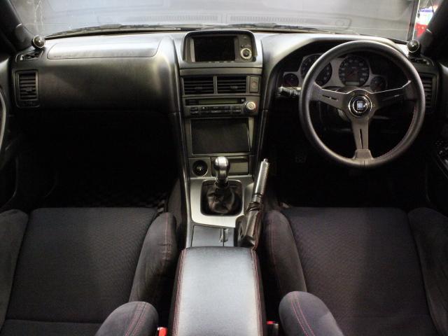 Nissan Skyline R34 GT-R 300PS+ (1999): Interieur 2