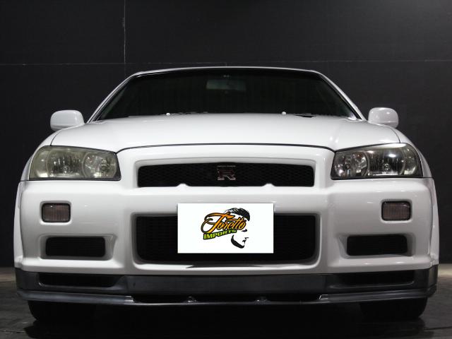 Nissan Skyline R34 GT-R_1999_201801: Front