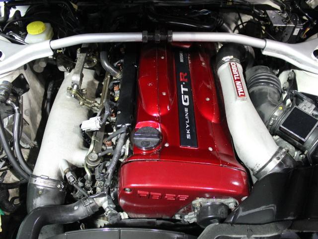 Nissan Skyline R34 GT-R_1999_201801: Motorraum