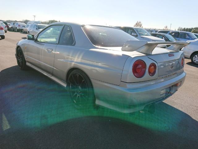 Nissan Skyline R34 GT-T: Heck 2