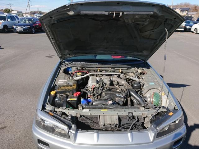 Nissan Skyline R34 GT-T: Motor 1