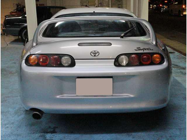 Toyota Supra MKIV Non Turbo_Heckansicht