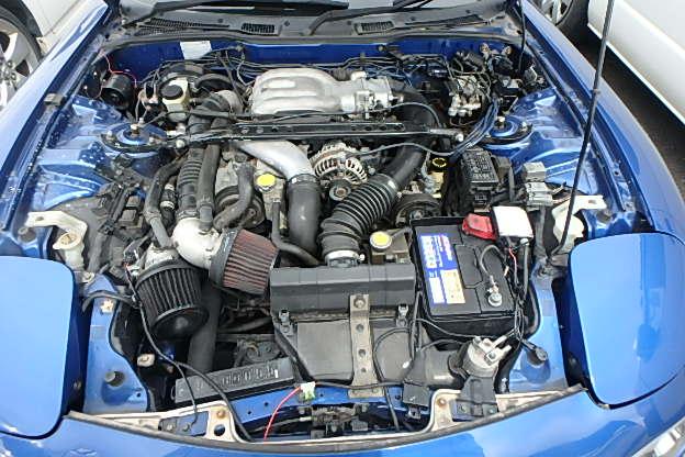 Mazda RX-7 Type RS: Motorraum