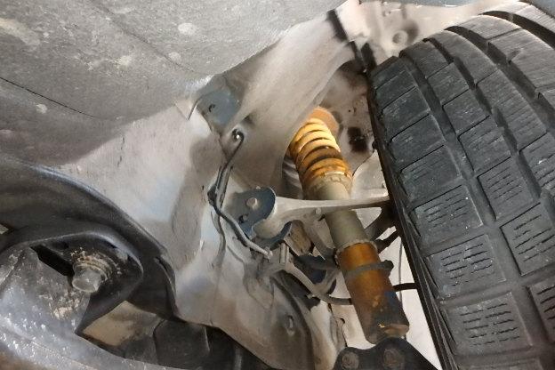 Mazda RX-7 Type RS: Gewindefahrwerk